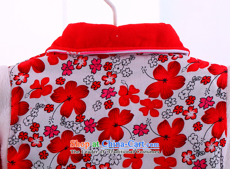 Tang Dynasty Chinese traditional infant girl babies for winter piping small cotton padded coats warm winter Tang Dynasty Package to be repaired5286 Red 80 pictures, prices, brand platters! The elections are supplied in the national character of distribution, so action, buy now enjoy more preferential! As soon as possible.