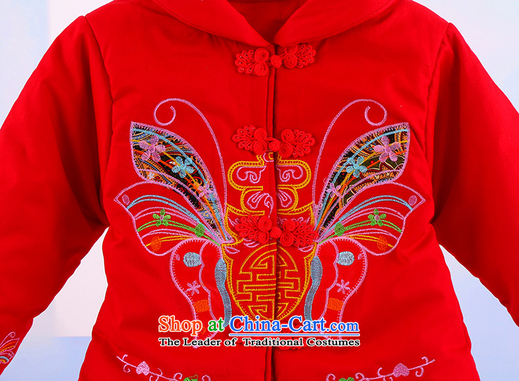 Winter new girls New Year holiday butterfly Tang Dynasty Package your baby girl pure cotton warm thick Tang dynasty 5250 Red 120 pictures, prices, brand platters! The elections are supplied in the national character of distribution, so action, buy now enjoy more preferential! As soon as possible.