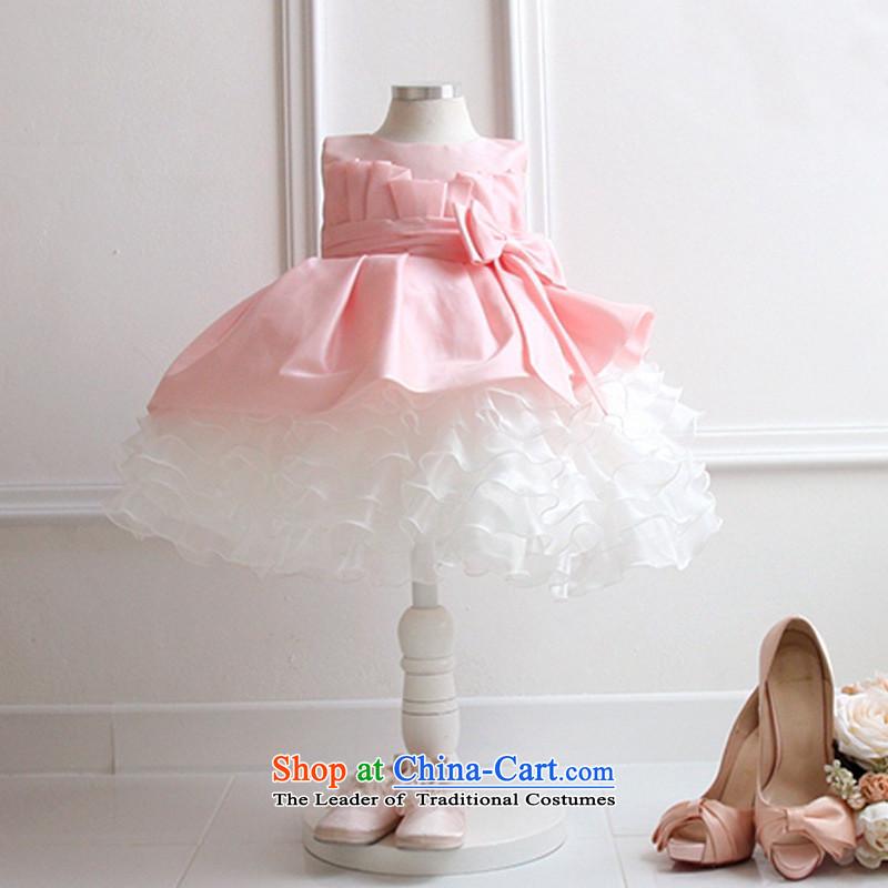 Each Ngai girls princess skirt dress skirt 61 Will Princess skirt girls dancing girls will serve the princess skirt pink150