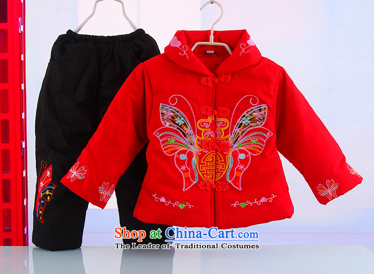 Winter new girls New Year holiday butterfly Tang Dynasty Package your baby girl pure cotton warm thick Tang dynasty 5250 Red 110 pictures, prices, brand platters! The elections are supplied in the national character of distribution, so action, buy now enjoy more preferential! As soon as possible.