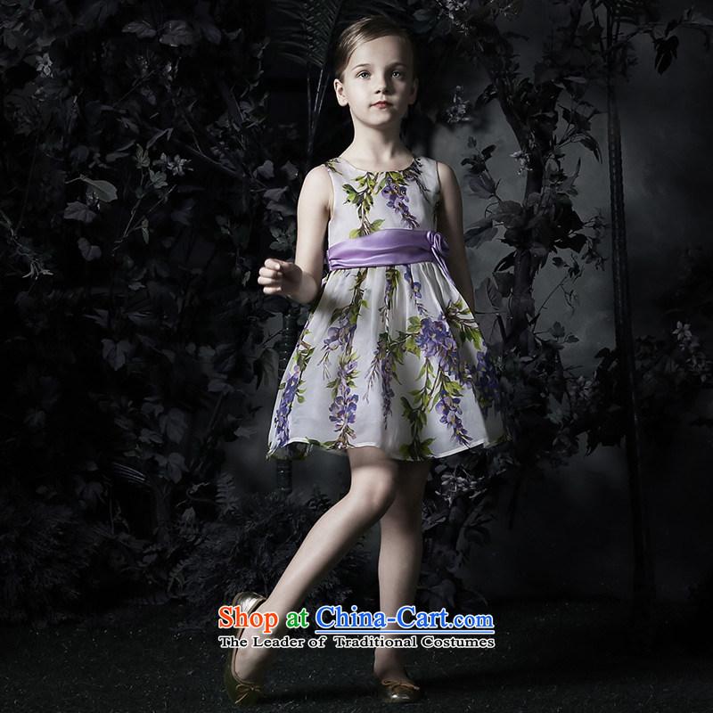 Love on the new upscale 2015 Ko Yo Girl dress princess bon bon skirt girls silk dress as Figure1.3