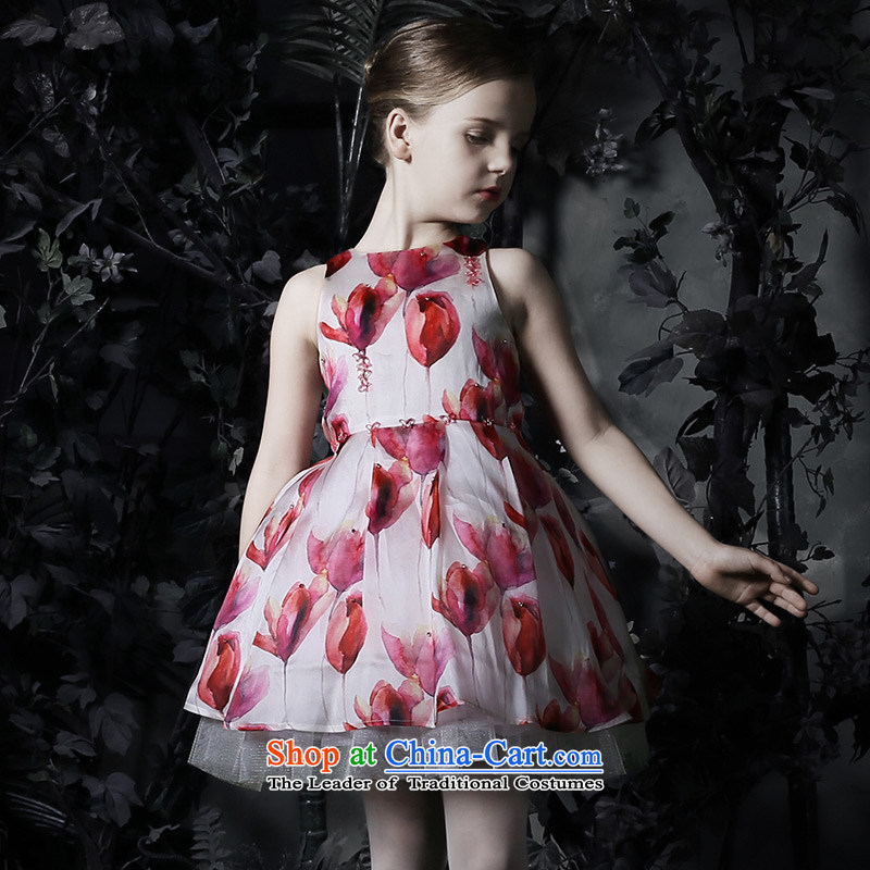 Love Of the spring and summer of 2015, Ko Yo Girl New Princess skirt dress skirt children bon bon silk skirt the yarn girls dresses figure 160