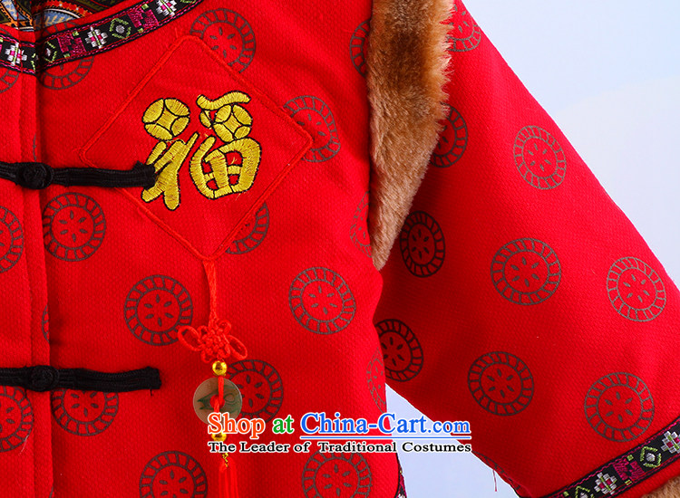 Tang Dynasty children thick boy cotton coat Tang Dynasty Tang dynasty children's wear winter thick Tang dynasty child robe Tang dynasty yellow 120 pictures, prices, brand platters! The elections are supplied in the national character of distribution, so action, buy now enjoy more preferential! As soon as possible.