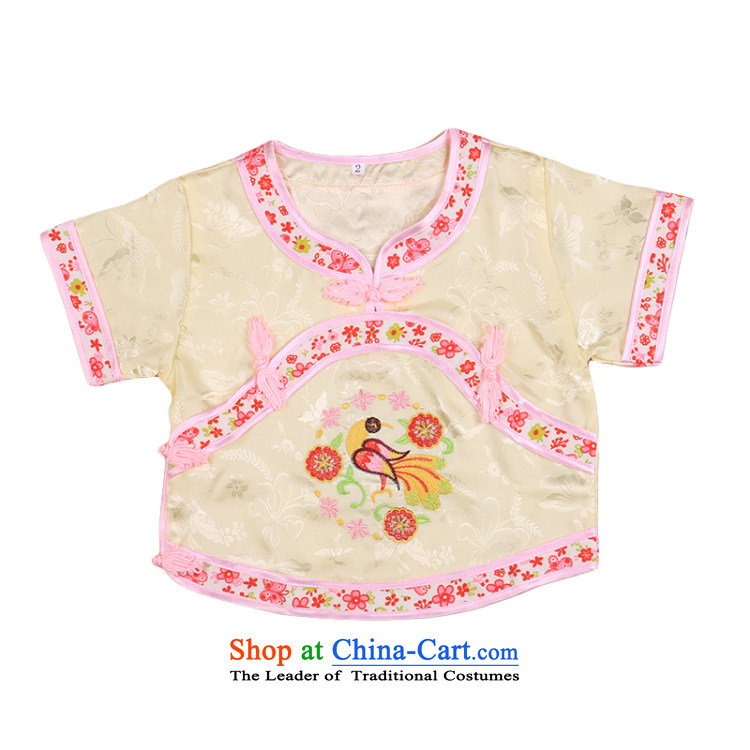 Tang Dynasty children Tang dynasty baby girl cheongsam damask Siu Fung fairy boy shorts, short-sleeved packaged New Summer 4665 pictures will, prices, brand platters! The elections are supplied in the national character of distribution, so action, buy now enjoy more preferential! As soon as possible.