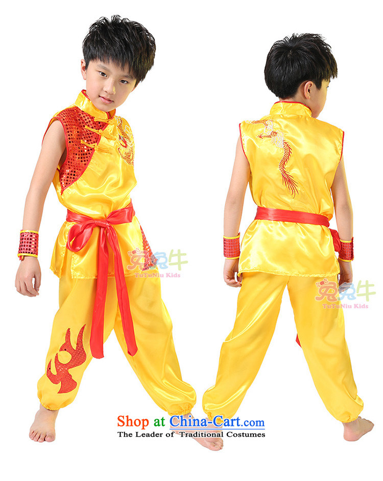 61. Children will martial arts services boy martial arts performance clothing kung fu children performances services serving girls yellow men 130 pictures, prices, brand platters! The elections are supplied in the national character of distribution, so action, buy now enjoy more preferential! As soon as possible.