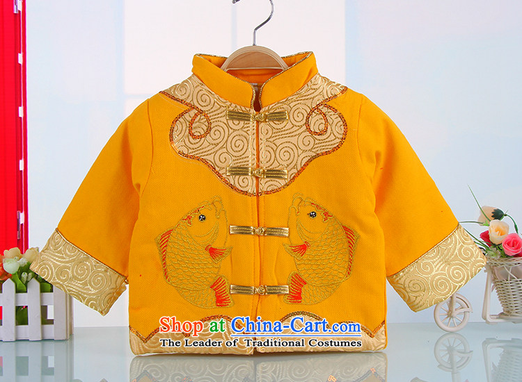 The happy new year-old baby Tang dynasty winter thick winter Tang dynasty infant children Tang Dynasty Winter 5377 boy yellow聽110 pictures, prices, brand platters! The elections are supplied in the national character of distribution, so action, buy now enjoy more preferential! As soon as possible.
