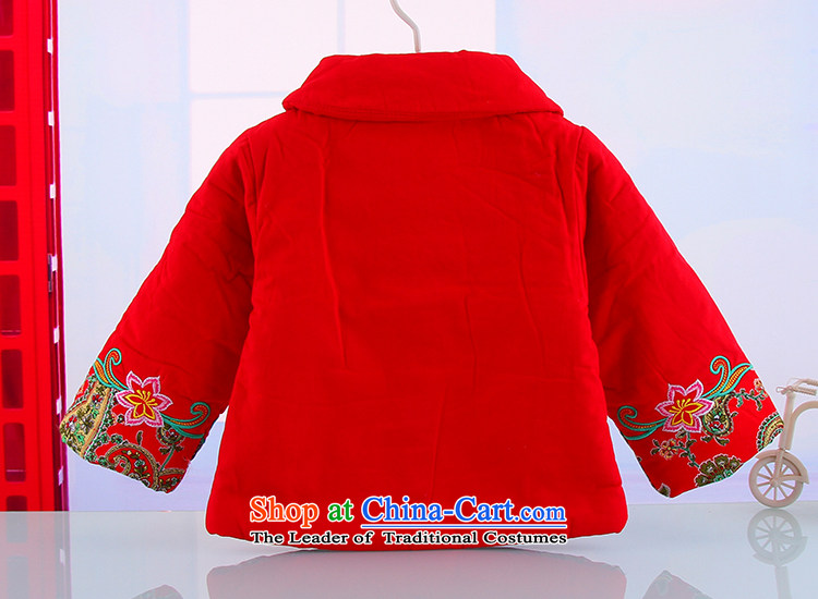 The girl child of autumn and winter pure cotton waffle warm Tang dynasty female babies outdoor New Year Holidays Tang dynasty two kits red 120 pictures, prices, brand platters! The elections are supplied in the national character of distribution, so action, buy now enjoy more preferential! As soon as possible.
