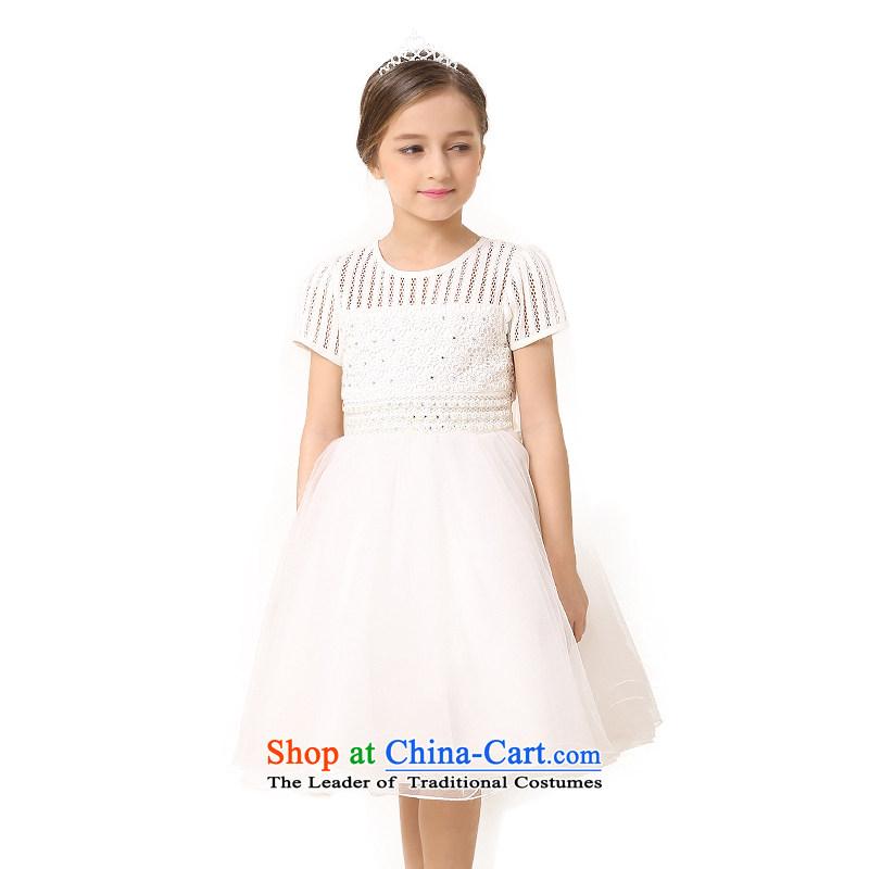 In accordance with the girl child friendly picking dress skirt 2015 new children's wear skirts summer vest princess dress children dresses girls skirt LCY23 White聽140