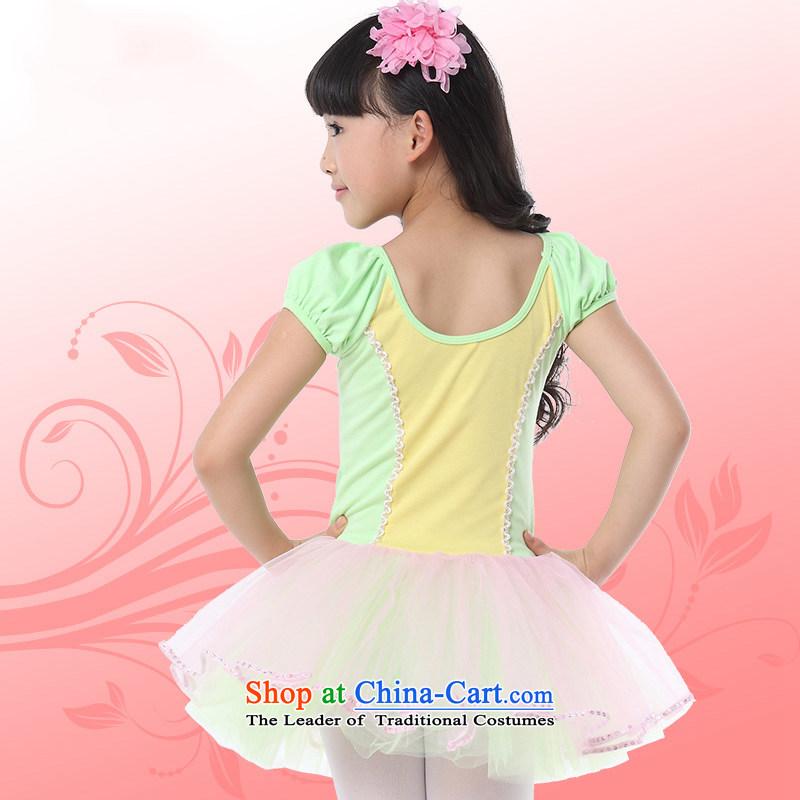 Children Ballet exercise clothing dress Shao Er bon bon skirt ballet skirt girls dancing skirtTZ5123-0004gauze petticoats,140CM,POSCN,,, shopping on the Internet