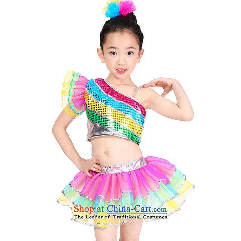 Children will jazz dance jazz dance modern dance on film services street performancesTZ5123-0019 serve children dancers, thefigure of140 colors recommended height Paras. 135-145