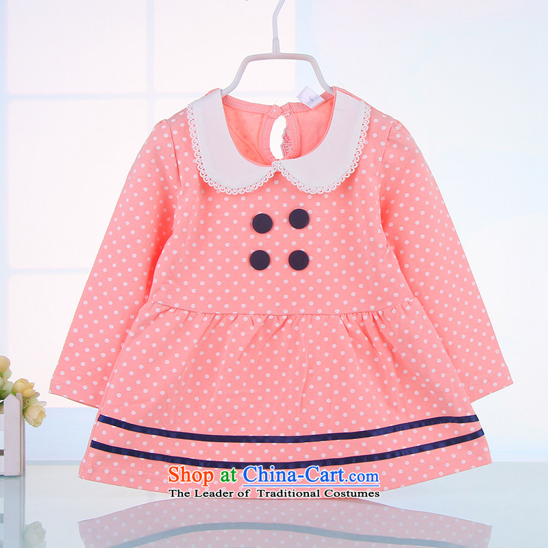 2015 New girl children's wear dresses children fall inside your baby dresses girls skirts infant skirt 7,277 pink聽120