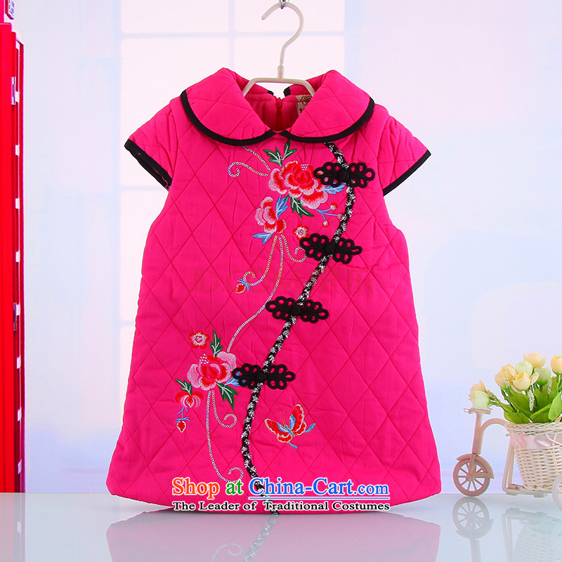 Email Summer Package Western Classic girls dresses for princess dolls dresses baby skirt infant pure cotton dress 5137 rose110