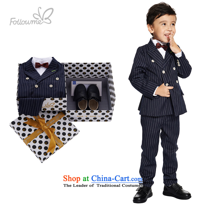 M&B suits package will dress fourreau mini-children's wear Gift Box 2015 Autumn New suits are being installed under the auspices of dress with a birthday shoes)120 37