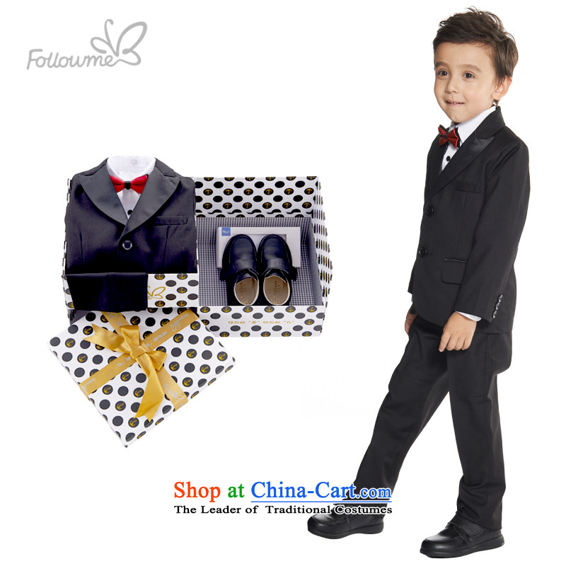 Suits package will dress fourreau mini-children's wear gift box boy Kit 2015 Autumn new shoes (with 37) 120