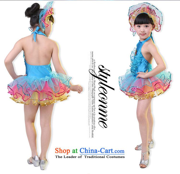 0eba2516e Kiss sheep children costumes dance performances to girls wearing bright  chip child care dance performances clothing