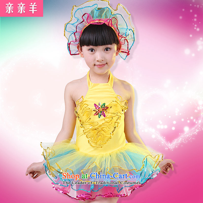 30b1b6092 Kiss sheep children costumes dance performances to girls wearing bright  chip child care dance performances clothing dress girls costumes of Early  Childhood ...