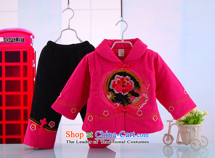 Tang Dynasty Children baby girl Tang Dynasty Tang dynasty winter coat warm winter thick Tang Dynasty Suit 5157 Red 110 pictures, prices, brand platters! The elections are supplied in the national character of distribution, so action, buy now enjoy more preferential! As soon as possible.