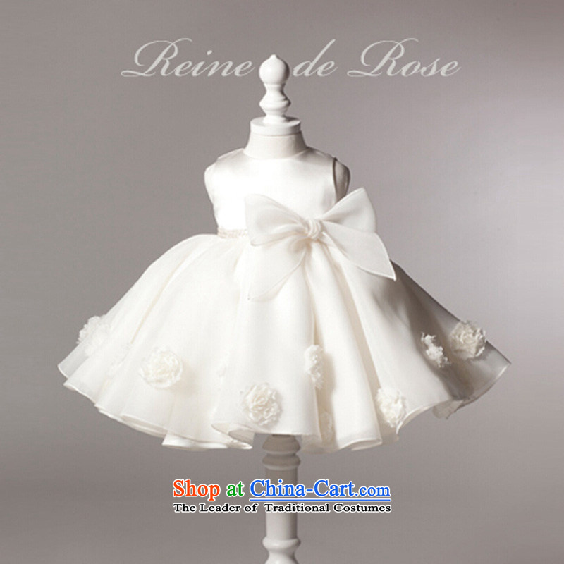 M High State Children's dress girls princess skirt summer Flower Girls dress bon bon skirt wedding dress to live piano music children's wear dress 2050 140