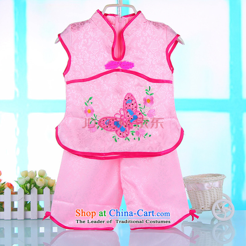 The new girls idyllic wind short-sleeved Tang Dynasty Package your baby girl children summer Chinese silk Tang dynasty summer, 4681