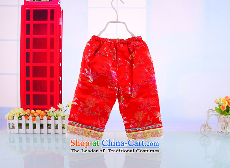 44837e8b8 The Tang dynasty baby Winter Package boy children infant winter ...