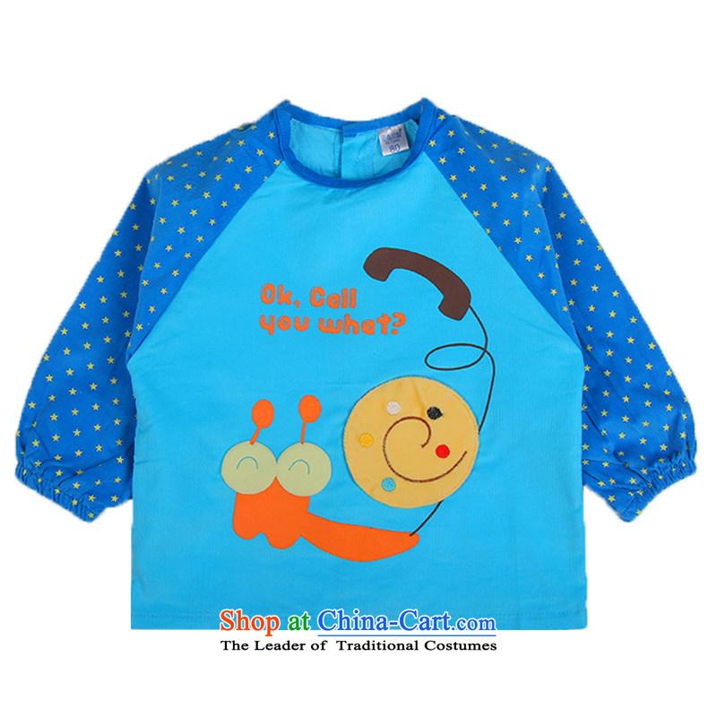 Children's Wear your baby girl corduroy coat children wearing anti-infant rice jacket painting yi 7540 Blue80