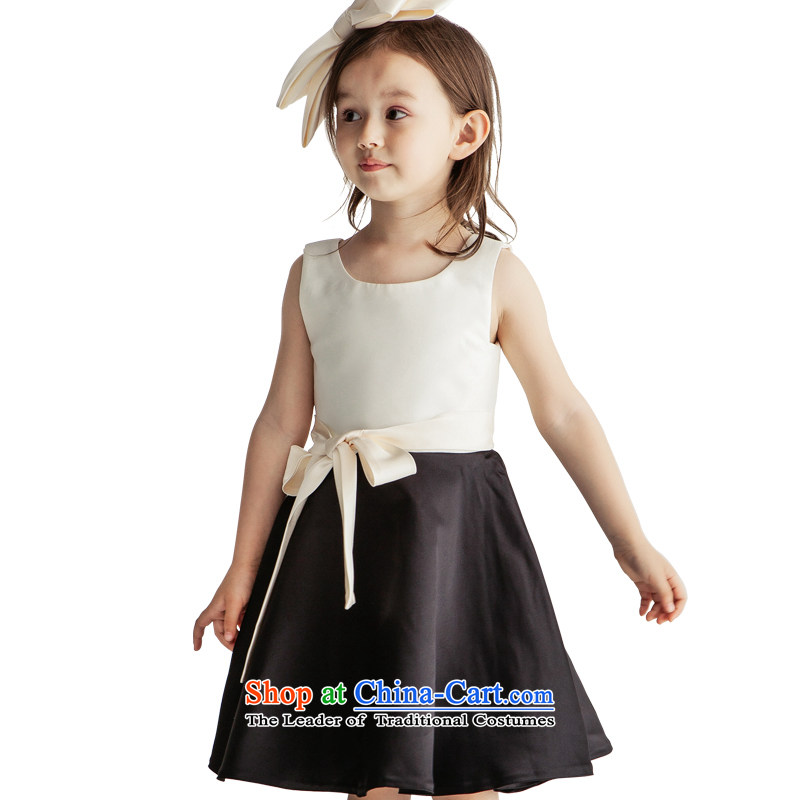 Po Jasmine children dress princess skirt the girl child and of children's wear dress winter children wedding dresses Flower Girls dresses Custom Image Color Custom size - 5 day shipping