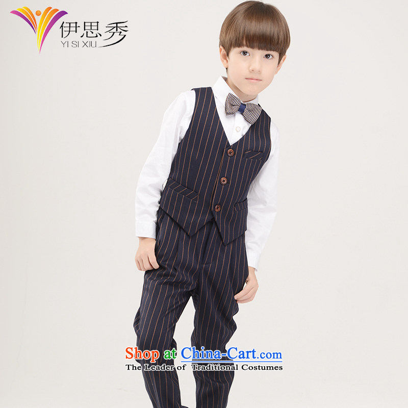 The league-soo boy streaks, Boy, a children's wear children Korean moderator will dress?M1012 150