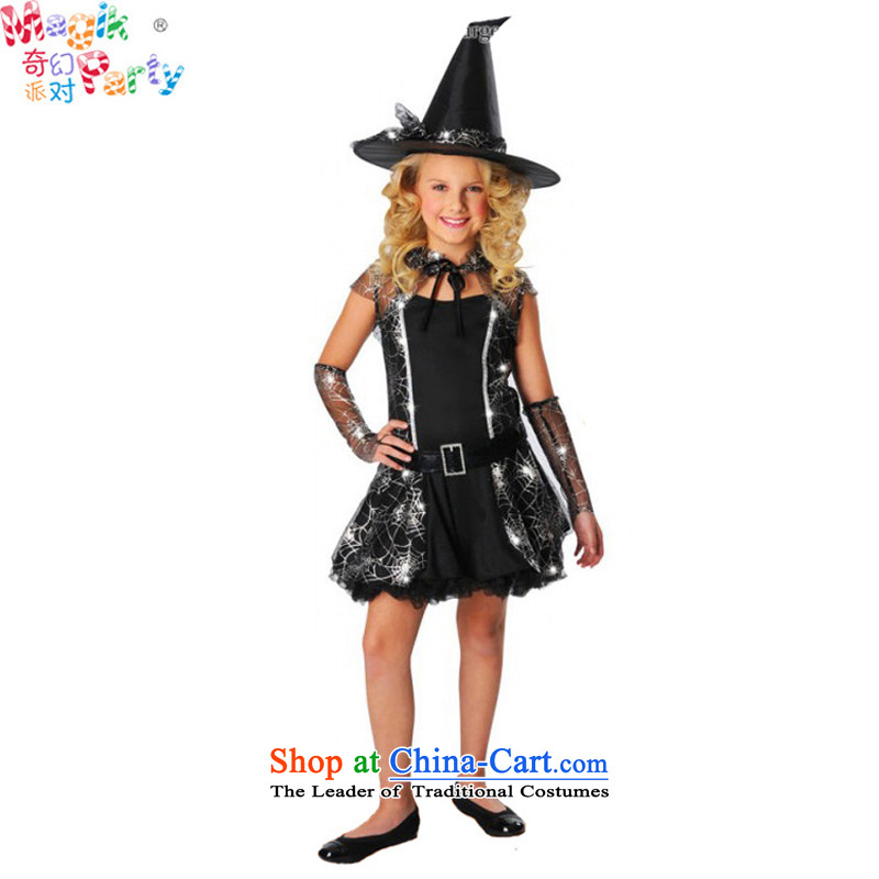 Fantasy Halloween costume party Halloween costumes performed girls Dress Photography witch dresses spiderweb witch skirt spiderweb skirt聽14011-12 code