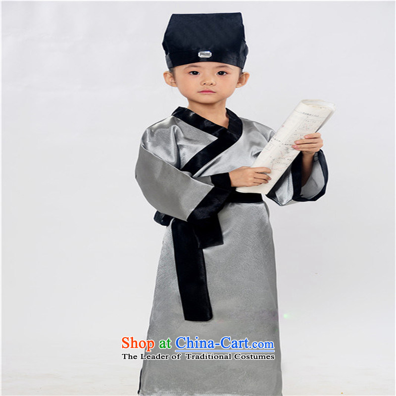 The Confucius Institute of children's clothing Confucian Education Teaching Mr. ancient rituals wearing apparel, carbon will,160