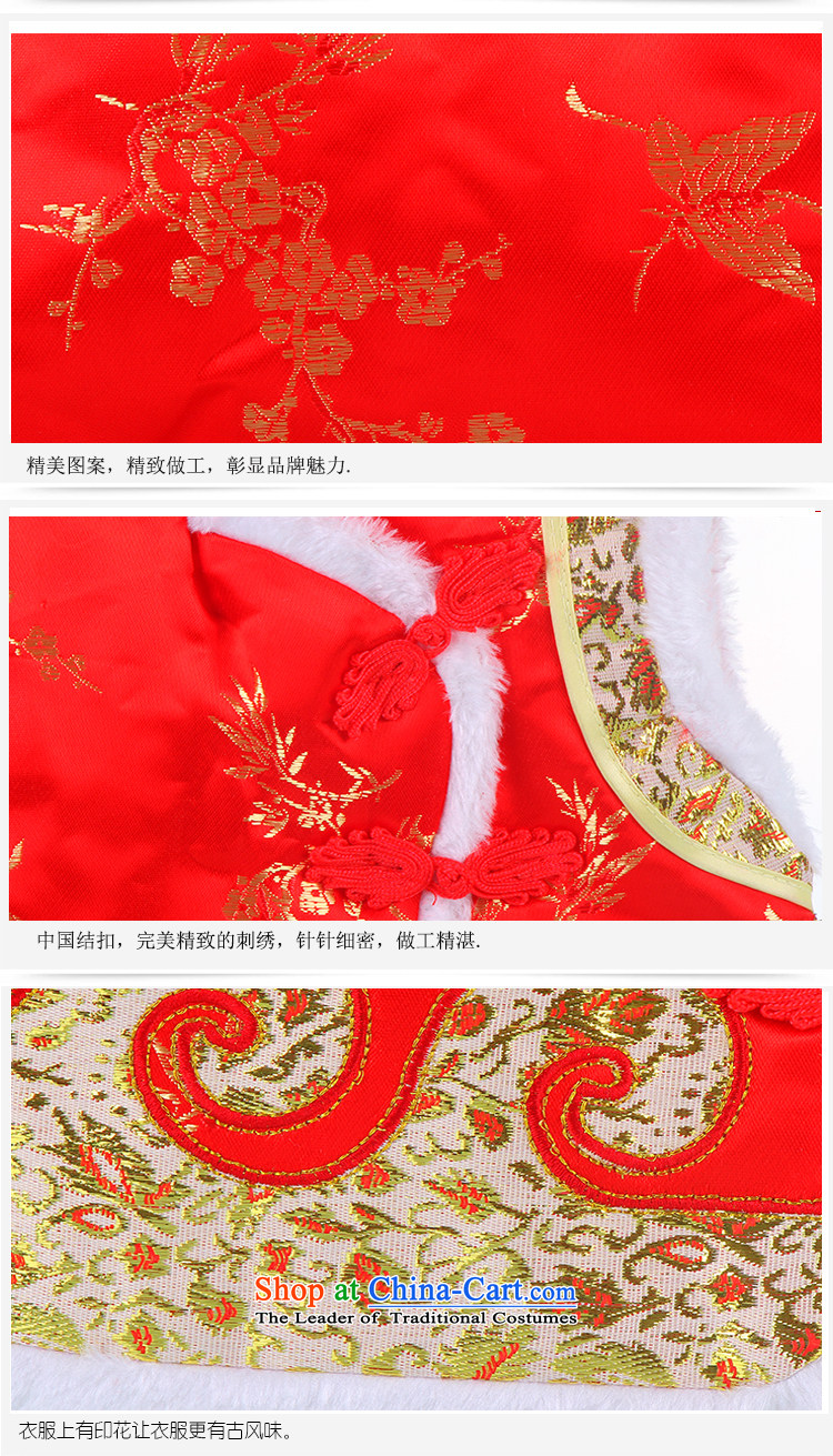 Tang Dynasty children for winter boy Tang dynasty baby boy Tang Dynasty Chinese New Year the Tang dynasty cotton vest red 73 pictures, prices, brand platters! The elections are supplied in the national character of distribution, so action, buy now enjoy more preferential! As soon as possible.