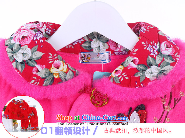 New Year Children Tang dynasty winter clothing girls cotton waffle female babies winter out service kit Red Robe 73 pictures, prices, brand platters! The elections are supplied in the national character of distribution, so action, buy now enjoy more preferential! As soon as possible.