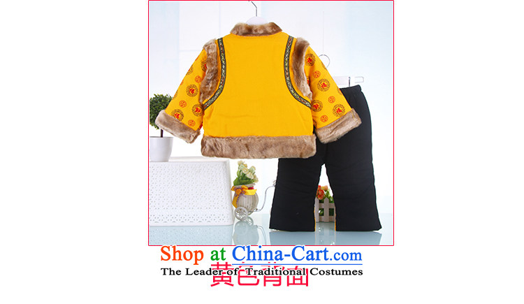 2015 new men and women baby infant age Tang dynasty China wind service pack Yellow100 pictures, prices, brand platters! The elections are supplied in the national character of distribution, so action, buy now enjoy more preferential! As soon as possible.