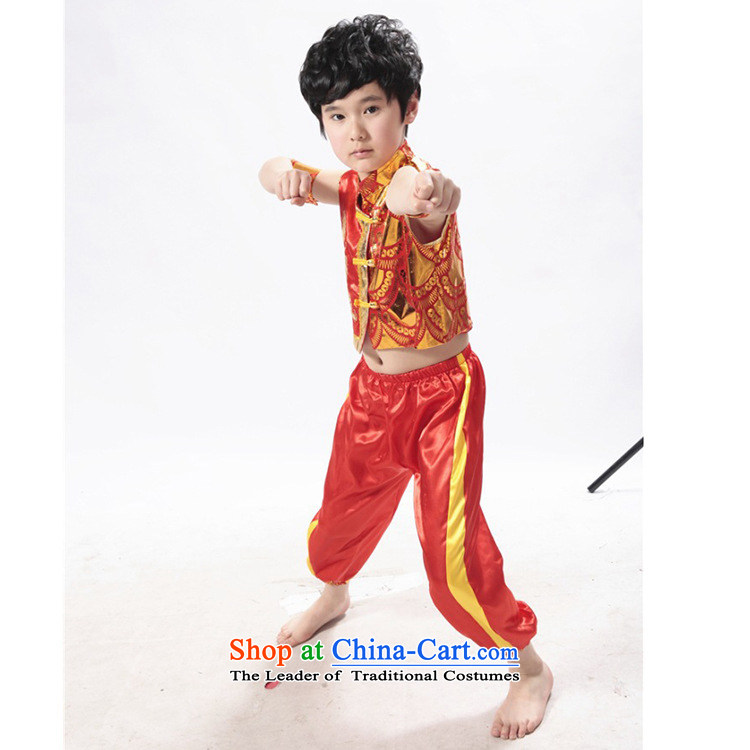 Children on chip martial arts service stamp Jackie Chan's kung fu kit kit for boys and girls martial arts performance services kung fu Kit Yellow 150cm photo, prices, brand platters! The elections are supplied in the national character of distribution, so action, buy now enjoy more preferential! As soon as possible.