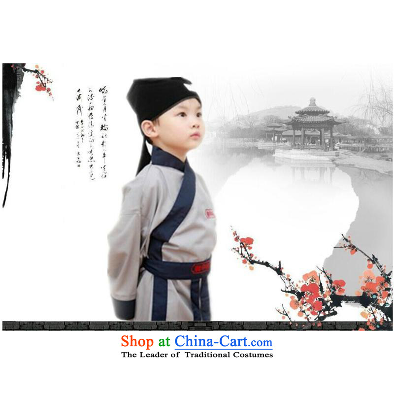 Children's Books Child Child Child Han-disciples Neo-confucian dress book' Ancient Shu Lang will figure 130cm