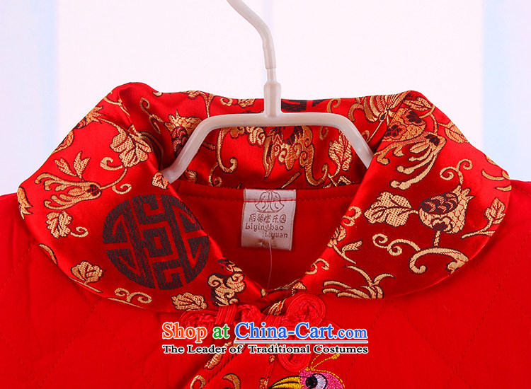 Children qipao girls Tang dynasty winter clothing girls new year with your baby Tang dynasty owara infant children's wear thick skirt red 110 pictures, prices, brand platters! The elections are supplied in the national character of distribution, so action, buy now enjoy more preferential! As soon as possible.