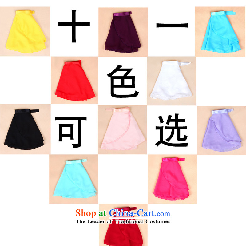 Adjustable leather case package girls snow spinning skirt David children dance wearing summer exercise clothing tether apron skirt the body in spring and autumn show toner color code