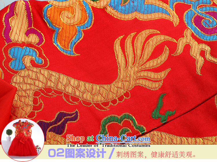 Autumn and winter thick baby Tang dynasty children New Year boxed girls cheongsam red 140 pictures will, prices, brand platters! The elections are supplied in the national character of distribution, so action, buy now enjoy more preferential! As soon as possible.