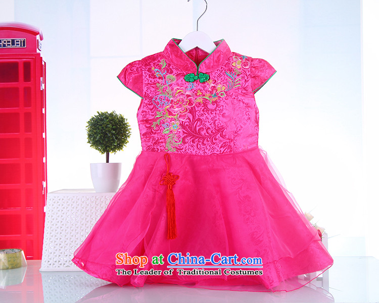The girl child) thick children qipao winter Tang dynasty dresses baby new year with the autumn and winter children aged 3-6 Tang dynasty pink 120 pictures, prices, brand platters! The elections are supplied in the national character of distribution, so action, buy now enjoy more preferential! As soon as possible.