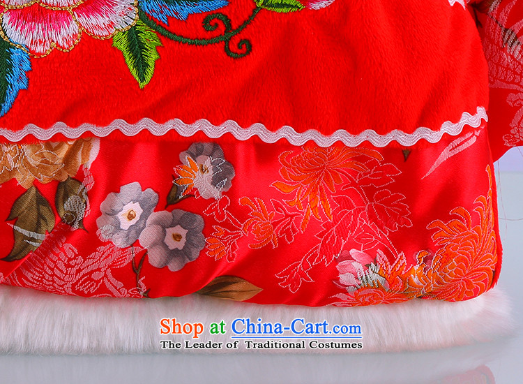 Tang Dynasty children for winter female babies Spring Flower Field Kit Tang dynasty butterfly 2-5-year-old girl New Year Service聽90 pictures, price pink, brand platters! The elections are supplied in the national character of distribution, so action, buy now enjoy more preferential! As soon as possible.