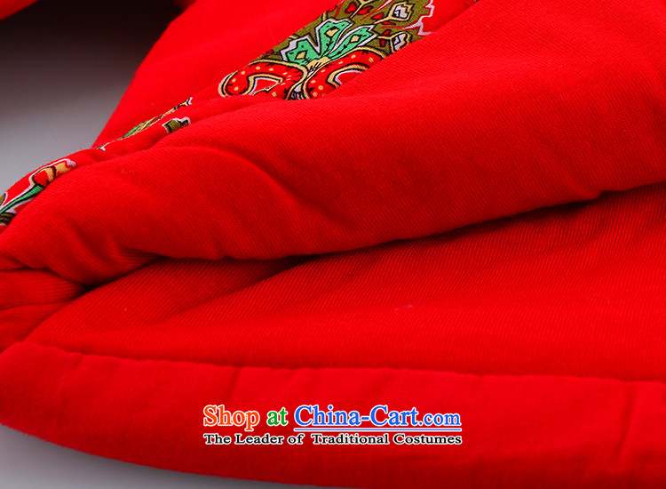 Tang Dynasty Children baby girl Tang Dynasty Tang dynasty winter coat warm winter thick Tang dynasty suit red100 pictures, prices, brand platters! The elections are supplied in the national character of distribution, so action, buy now enjoy more preferential! As soon as possible.
