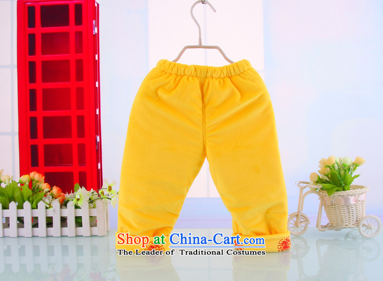 Tang Dynasty girls children Tang dynasty winter clothing baby package infant cotton clothes with children's wear new year holiday yellow90 pictures, prices, brand platters! The elections are supplied in the national character of distribution, so action, buy now enjoy more preferential! As soon as possible.