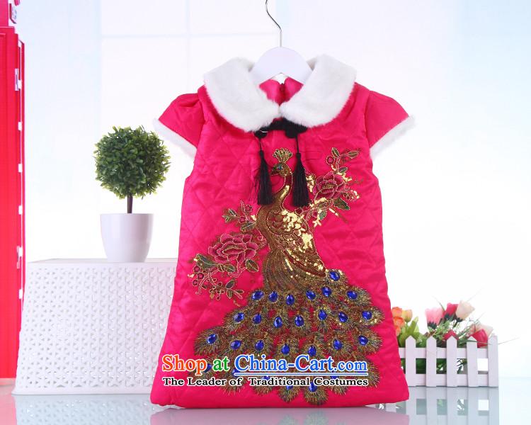 cb8cba44623d Children qipao Tang dynasty girls autumn China wind baby winter ...
