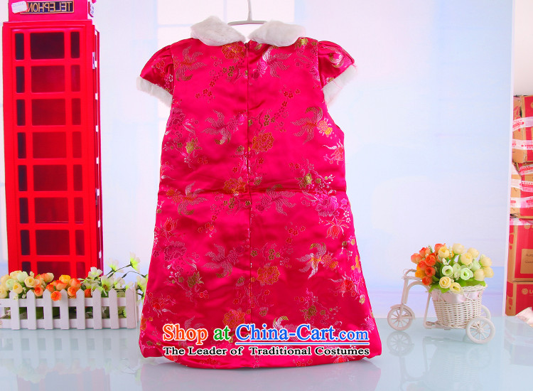 2015 Autumn and winter new girls qipao thick baby Tang dynasty children New year red聽90 pictures, prices, brand platters! The elections are supplied in the national character of distribution, so action, buy now enjoy more preferential! As soon as possible.