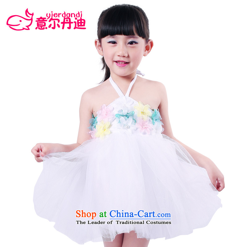 To achieve new gourdain child maids dresses choral skirt princess skirt dress skirts children moderator show services bon bon skirt summer White120