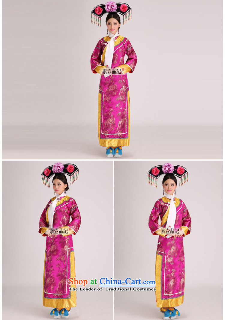 The Qing dynasty Empress Gwi-cos well jin small home-flag Manju maids serve clothes performances showing the Stage Costume blue are code picture, prices, brand platters! The elections are supplied in the national character of distribution, so action, buy now enjoy more preferential! As soon as possible.