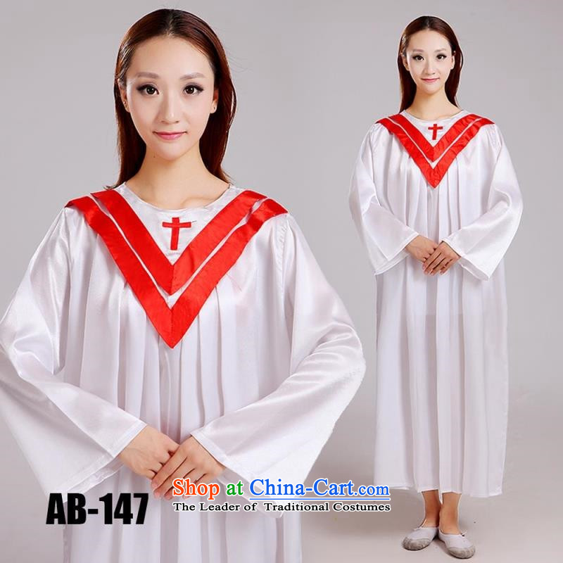Christian church choir robe choir clothing in the ephod hymns Services service in the sacred garments of the Church of the holy garments custom red�170 cm