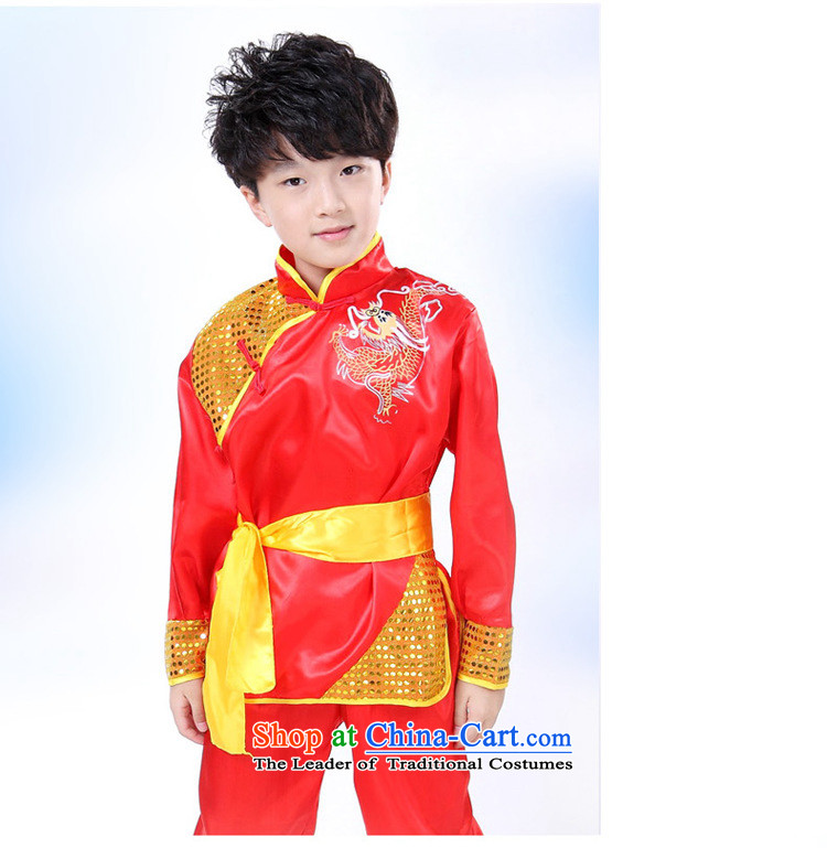 Martial arts services children national costumes martial arts costume services martial arts clothing will Children Folk Dance Sleeveless Red聽150cm photo, prices, brand platters! The elections are supplied in the national character of distribution, so action, buy now enjoy more preferential! As soon as possible.