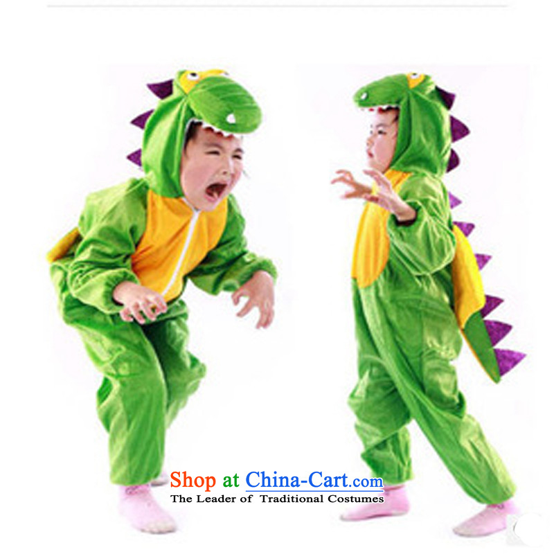 Children's Clothing animal costumes dinosaur clothes boy cosplay show services XL 120-135CM children