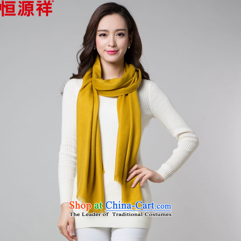 Hang Cheung Korean source, wool scarf of autumn and winter female solid color thick oversized long air-conditioned room shawl two Staphylococcus Other