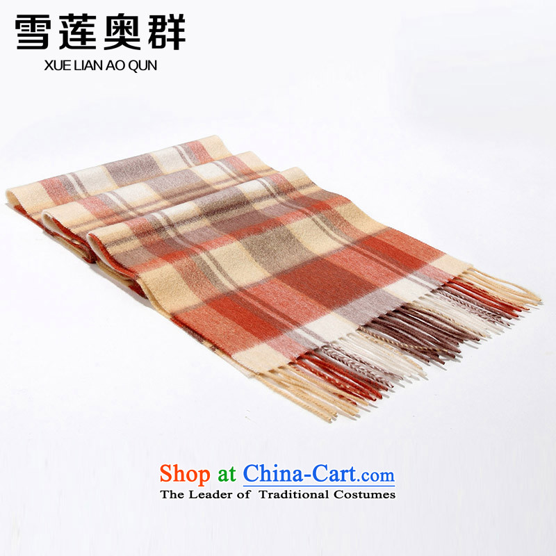 Shirley Mr. Cluster 2015 autumn and winter Classic Grid Cashmere scarf men and women polester velvet shawl taxi ring with two long thick 32